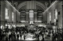Grand Central (Darny) Tags: nyc newyorkcity bw newyork grandcentralstation grandcentral hdr webcity 91points hdrfromsingleraw darny