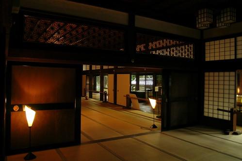 Kawagoe Castle Tatami mat floors