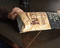 (seizethedave) Tags: food bag hand ryan chips kettle snack snacks kettlechips