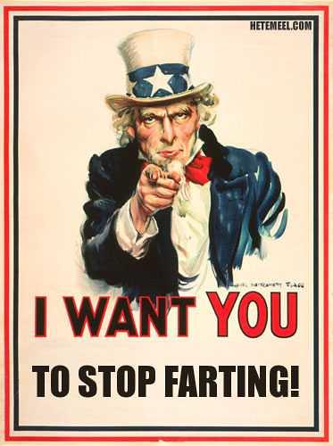 farting