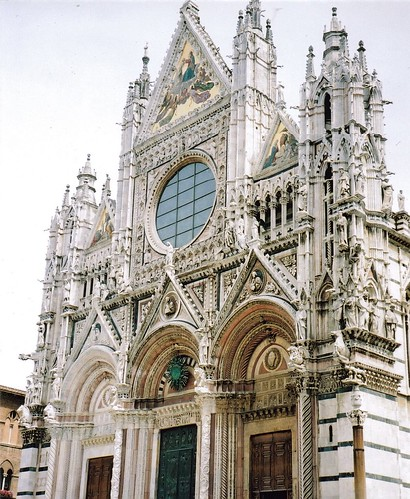 Cathedral of Santa Maria, Siena, Italy. by Diego