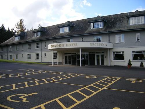Drumossie Hotel car park