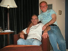 Us in Michigan (gaymay) Tags: gay loving chair couple inside 10millionphotos