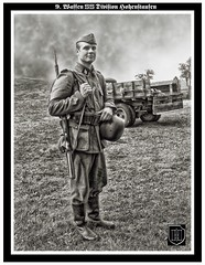 SS Soldier - Reenactor ((The) Appleman) Tags: soldier illinois military harvard wwii ss september german ww2 reenactment reenactor worldwar2 waffen schutzstaffel novaman396 fotocreations