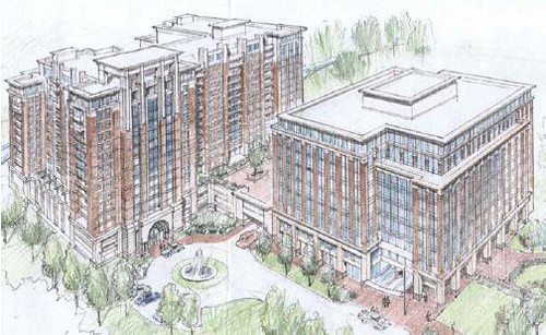 Preliminary rendering of the View complex