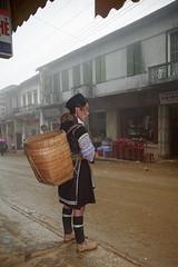 Black H'Mong Girl (Leonid Plotkin) Tags: asia vietnam sapa hmong