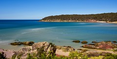 Tidal flow (jack eastlake) Tags: pambula seascape sea scape river mouth tidal barmouth beach panorama merimbula far south coast nsw bega valley
