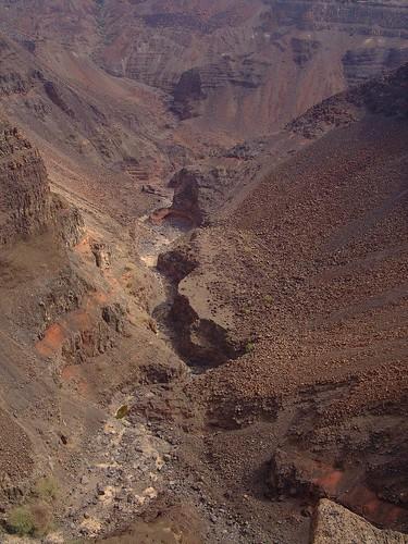 Red canyon, Danakil, Djibouti