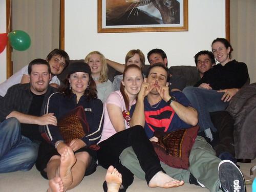 Pasta Crew Christmas '06.