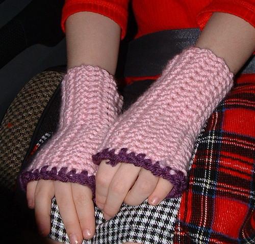 Anna's Crochet Mitts