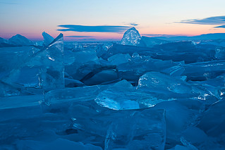 Blue Diamonds - Baikal Lake