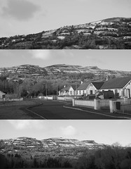 Snow on the Mountain (Jonas Dellow Photography) Tags: jonasdellowphotography nikond600 composition collage snow rossinver leitrim ireland beautiful natural nature street light blackwhite contrast highlights