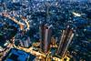 Roppongi Evening (maida0922) Tags: a7iii variotessartfe1635mmf4zaoss japan tokyo roppongi hills observatory cityscape nightscape night buildings skyscraper architecture urban street
