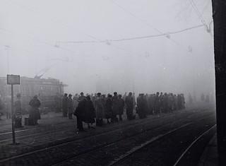 Wachten in de mist