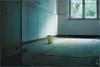 Room with a view. For the bucket. (Gudzwi) Tags: licht light bucket eimer window windows fenster zimmermitaussicht roomwithaview smileonsaturday beelitz beelitzheilstätten abandoned düster gloomy beängstigend heilstätten spooky spotlight unheimlich verlasseneorte urbex decay lostplaces sos gebäude building verfallen ausblick raum room leererraum emptyroom