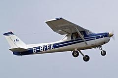 G-BFEK   R/Cessna F.152 [1442] (Staverton Flying School) Staverton~G 15/03/2011 (raybarber2) Tags: 1442 abpic airportdata approachtodo cn1442 egbj flickr gbfek single ukcivil