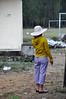 Sun hat (Roving I) Tags: women sunhats checks markets hoodies looking footballfields tamky vertical villages vietnam