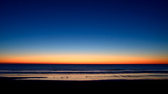 Aura Sea (Raquel Borrrero) Tags: blue hour sky sea mar hora azul arena sand cielo ciel colour color reflejo reflections orilla seascape shore light cádiz españa puesta de sol océano ocean playa beach agua wasser evening spain colorful