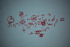 02Apr2018-SanFrancisco-IMG_3179 (aaron_anderer) Tags: plywood sharpie harpy equation nonsense beautifulmind sanfrancisco urban downtown city california 2018