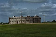 PALAZZO PAPALE    ----    POPE'S PALACE (cune1) Tags: panorama landscape erba grass cielo sky africa costadavorio yamoussoukroarea del vaticano