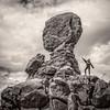 Balanced Rock, Utah (The Light Cavalry) Tags: galleries usa torrey2016wsylvie mono travel utahwithsylvie utah