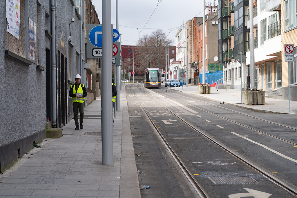 DOMINICK STREET DUBLIN [TRAMS AND TRACKS]-137844