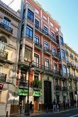 Edificio calle Roger de Lauria 20 - València (Kiko Colomer) Tags: kiko colomer pache francisco valencia valence lauria roger ciudad centro