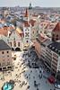 Marienplatz (lichtauf35) Tags: fromabove munich2018 city zentrum colorful altstadt marienplatz lightsandshadows roofs