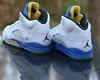 Nike Air Jordan 5 Retro GS Laney White Maize Royal Black 845035-003 Size 6Y (reddealsonline) Tags: nike airjordan5retrogslaney 2013 845035003 white varsitymaizevarsityroyalblack upc00666003782659 v gradeschooledition jumpman sharkteeth kidsshightopsneaker tinkerhatfield