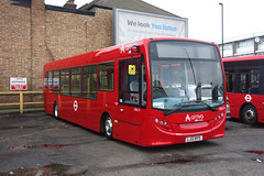 Arriva ENX9 (LJ12BYS) Enfield bus garage 10th April 2018 os (BristolRE2007) Tags: arriva bus london londonbus