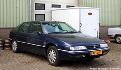 Citroën XM V6 Exclusive 1999 (XBXG) Tags: 92jdk7 citroën xm v6 exclusive 1999 citroënxm vlietskade arkel blue nederland holland netherlands paysbas youngtimer old classic french car auto automobile voiture ancienne française vehicle outdoor