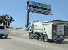 Tymco Street Sweep 4-10-18 (Photo Nut 2011) Tags: sandiego sanitation wastedisposal california truck garbagetruck trashtruck refuse junk waste garbage trash streetsweep tymco miramar