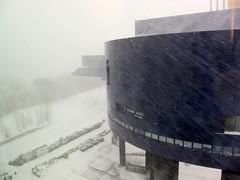 Snow Storm in April (mgtelu) Tags: minnesota minneapolis april152018 snowstorm milldistrict guthrietheater canons95