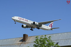 Qatar Airways Boeing 777-300 (AircraftLovers.com) Tags: berlin planespotting aviation avgeek airport berlinairport tegelairport tegel txl eddt aircraft flugzeug plane germany aircraftlovers lovers aircraftloverscom aircraftloversde qatar airways qatarairways boeing 7773dzer 777300 7773dz 777 773 b777 b773 a7bav
