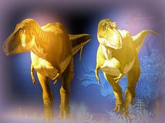 dinos (Raymonde Contensous) Tags: dinosaures affiche paris jardindesplantes mnhn untrexàparis préhistoire jurassique