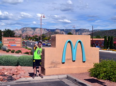 "The Teal Arches of McDonald's (Vinny Gragg) Tags: cloud clouds sign signs restaurant restaurants •template ""roadsideattraction"" ""roadsideattractions"" ""roadsidestatue"" ""roadsidegiants"" ""roadsidestatues"" ""roadsideoddities"" statues statue ""roadsideart"" giants sedonaarizona sedona arizona mcdonalds tealarches teal arches mountain mountains"