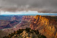 Grand Canyon (Norbert Stening) Tags: weather coloradoriver arizona cloud grandcanyon