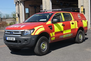 Offaly Fire & Rescue Service 2015 Ford Ranger HPMP Fire L4P 151OY481