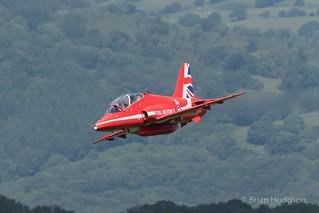 XX219  Hawk T1  RAF  Red Arrows