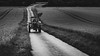 JOHN WAYNE (Jeton Bajrami) Tags: farmer wayne tractor work hard blackandwhite people men land handled road switzerland perfect art sony a7ii samyang 50mm fe contrast