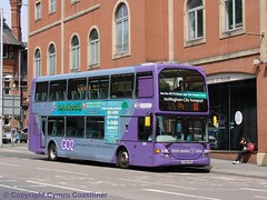 GO2 Nottingham (Cymru Coastliner) Tags: nottinghamcitytransport scania eastlancs omnidekka scaniaomnidekka 926 yt61ffn bus nottingham