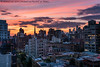 Sunset Last Night (20180621-DSC08508) (Michael.Lee.Pics.NYC) Tags: newyork sunset eastvillage architecture cityscape gracechurch hudsonyards rooftops watertanks sony a7rm2 fe24105mmf4g