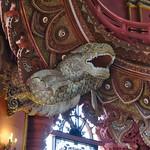 Dragon sculpture in the Erawan museum in Samut Phrakan province near Bangkok, Thailand thumbnail