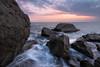 La pace tra le onde (Emone Giovanni) Tags: baia sunset tramonto liguria noiliguri landscape