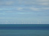 Windmills and Shadows on the Sea, Colwyn Bay, North Wales (uk_dreamer) Tags: seascape sea ocean water energy eco windmills shadows clouds cloudy sky blue wind windfarm view