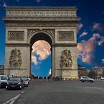 Paris  France ~  The Arc de Triomphe de l'Étoile  - Triumphal Arch of the Star thumbnail