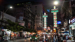 Chinatown at Bangkok (Lцdо\/іс) Tags: china town bangkok yaowarat road thailande thailand thailandia thai thaïlande street night nightcity city lцdоіс travel holiday historic