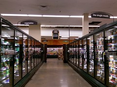 Aisle 12 (and a much smaller barn!) at the Trinity Commons Kroger (l_dawg2000) Tags: 2018remodel cordova delicatesen grocery grocerystore healthbeauty kroger labelscar marketplace meats memphis pharmacy produce remodel retail scriptdécor shelbycounty supermarket tennessee tn trinitycommons cordovamemphis unitedstates usa