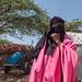 Portrait of a somali girl wearing a niqab, Woqooyi Galbeed region, Hargeisa, Somaliland