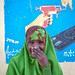 Portrait of a smiling somali girl, Woqooyi Galbeed region, Hargeisa, Somaliland